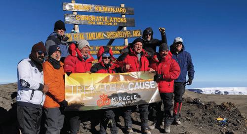 Personiv Executive Team Treks Mount Kilimanjaro, Raises $20K for Charity