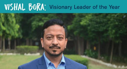 Personiv EVP & Site Head Vishal Bora Wins Visionary Leader of the Year