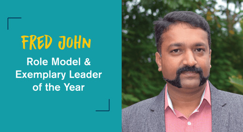 Fred John Wins Role Model & Exemplary Leader of the Year