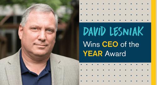 Personiv CEO, David Lesniak, Wins CEO of the Year Award