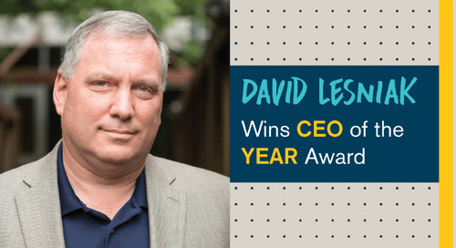 Personiv CEO, David Lesniak, Wins CEO of the Year Award