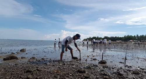 Personiv Manila Mangrove Planting & School Supply Donation