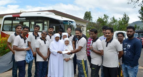 Personiv Coimbatore Gives Back at Home for the Aged