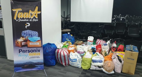 Personiv Manila Sends Out a 'Symbol of Hope' with Mount Taal Relief Activities