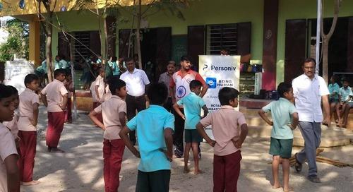 Personiv Coimbatore Organizes Silambam Classes