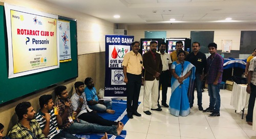 Personiv Coimbatore Gives Back To Kottaipalayam Panchayat Middle School