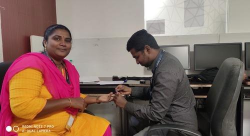 Coimbatore Team Organizes Health Camp