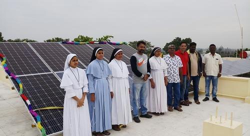 Personiv Coimbatore Installs Solar Panel At Karunai Illam