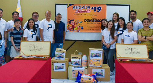 Manila's Being Human Activity At Tuloy Sa Don Bosco Foundation
