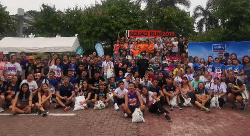 Personiv Manila Organizes Squad Run Event