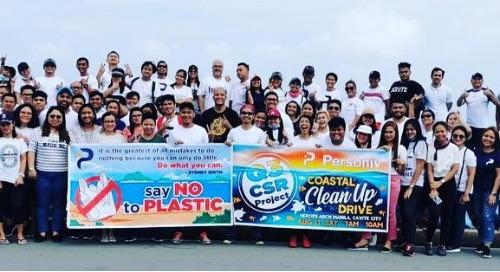 Personiv Manila Gives Back – Cleans Coastal Area