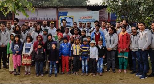 Personiv Gurugram Gives Back At Aravindam Foundation