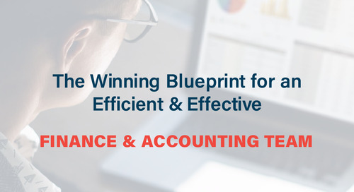 The Winning Blueprint for an Efficient and Effective Finance & Accounting Team