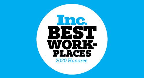 Personiv, Top Outsourcing Leader, Proclaimed an Inc. Best Workplace of 2020