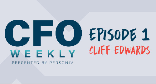 Scouting for Accounting Talent with Cliff Edwards - [CFO Weekly] Episode 1