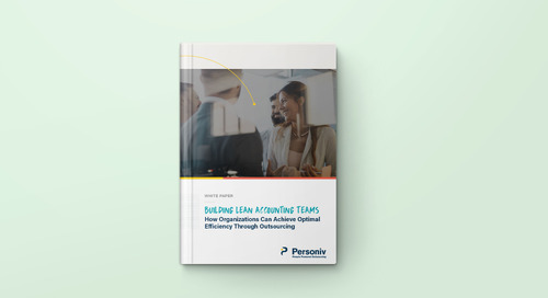 Personiv Releases White Paper on Finance & Accounting Outsourcing