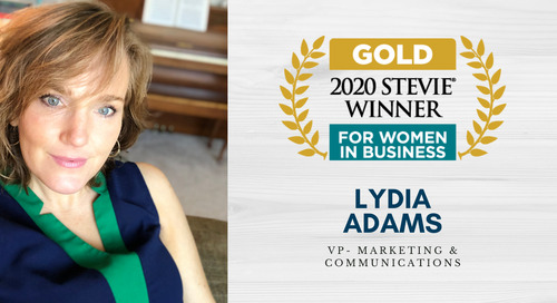 Personiv's Lydia Adams Wins Gold Stevie® Mentor of the Year Award