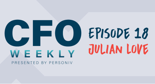 Building Socially Impactful Companies - [CFO Weekly] Episode 18