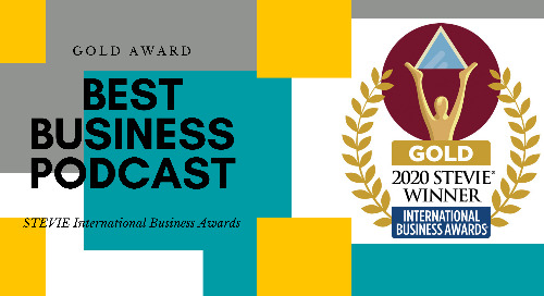 Personiv Wins Gold International Business Stevie® Award For 'Best Business Podcast'
