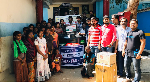 Coimbatore Team Gives Back at Bharath Zion Foundation