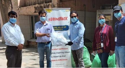 Personiv Gurugram Gives Back at Civil Hospital