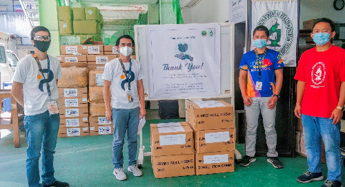 Personiv Manila Donates PPE Kits at Ospital Ng Muntinlupa And RITM