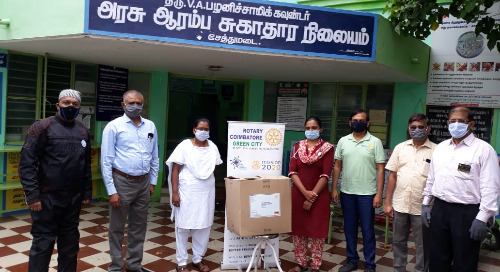 Coimbatore Team Gives Back at Coimbatore City Municipal Corporation
