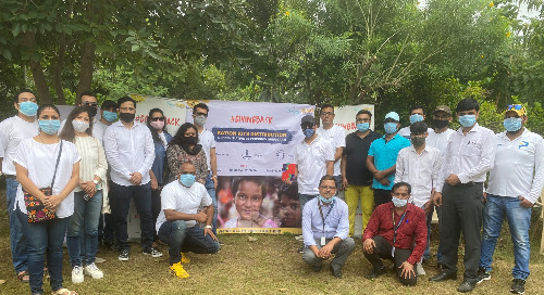 Gurugram Team Gives Back at Aravindam Foundation