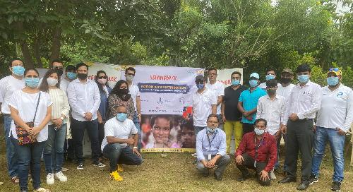 Gurugram Team Gives Back at Aravindam Foundation