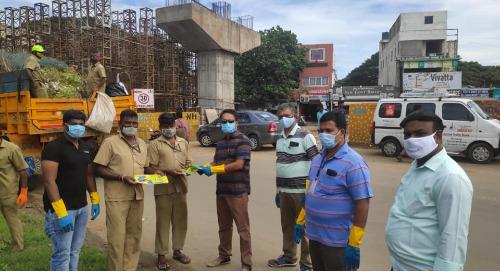 Coimbatore Team Cleans Valankulam Lake Shores