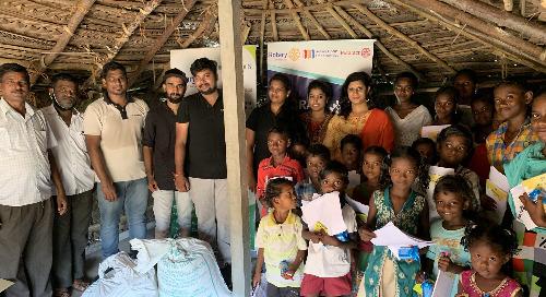 Coimbatore Team Initiates TEACH Project at Corporation School