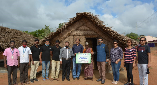 Coimbatore Team Inaugurates Shelter Homes
