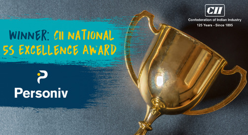 Personiv Coimbatore Wins CII National '5S' Award For The Second Year