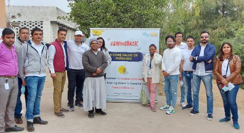 Personiv Gurugram Gives Back At Anand Ashram