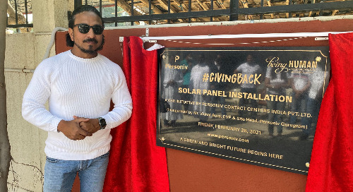 Personiv Gurugram Installs Solar Panel At Holy Name Church