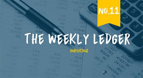 The Ledger No. 11: Invoicing