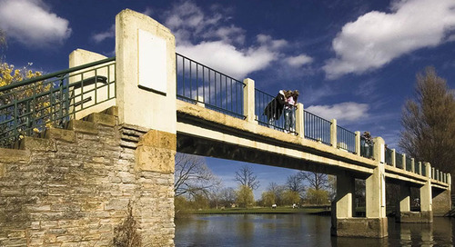 European RAD Initiative: Copperleaf Wraps Up The Friends of Lucy's Mill Bridge Project