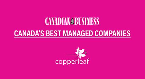Copperleaf: Canada's Best Managed Companies 2019 | Asset Management
