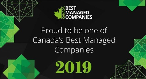 Copperleaf Named One of Canada's Best Managed Companies