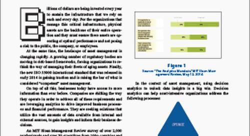 Feature Article: Decision Analytics Meets Asset Management
