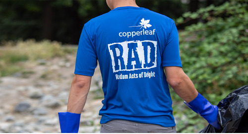 Copperleaf Launches RAD Initiative to Make Positive Impact in Local Community