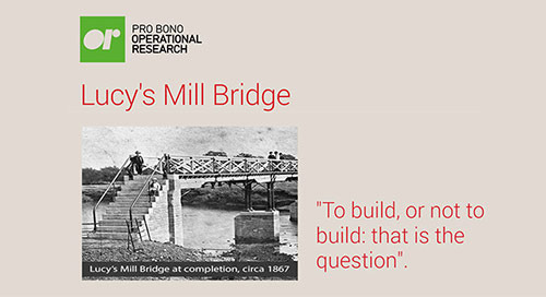 Feature Article: Lucy's Mill Bridge
