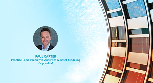 Employee Feature: Q&A with Paul Carter, Practice Lead, Predictive Analytics & Asset Modeling