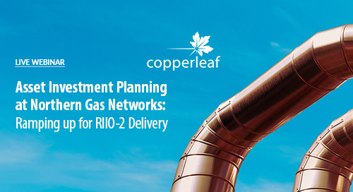 Webinar: Asset Investment Planning at NGN: Ramping up for RIIO-2 Delivery