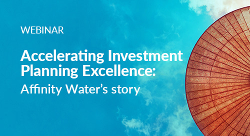 Register Now: Accelerating Investment Planning Excellence - Affinity Water's Story