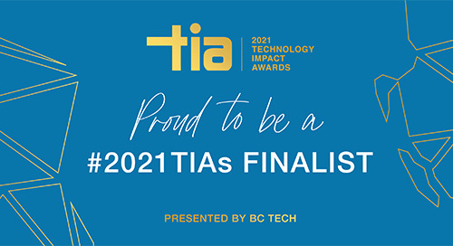 Copperleaf Selected as a Finalist for 2021 Spirit of BC Tech Award