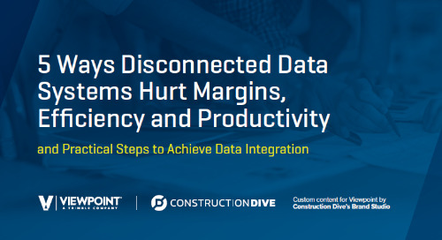 5 Ways Disconnected Data Systems Hurt Margins, Efficiency and Productivity