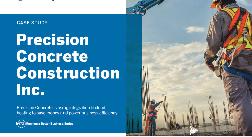 Precision Concrete Expects Six-Figure Cost Savings With Trimble Construction One