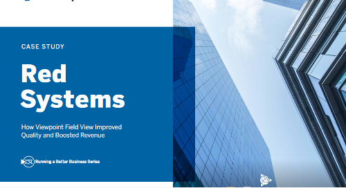 Red Systems Inc. Drives Quality Improvement to Increase Bottom Line with Field View