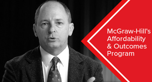What is McGraw-Hill's Affordability & Outcomes Program?